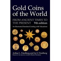 Book gold coins of the world friedberg