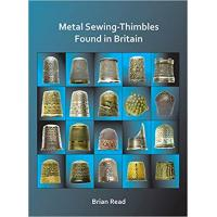 Books metal sewing thimbles found in britain