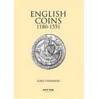 book english coins 1180 1551