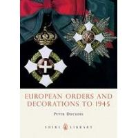 book european orders and decorations