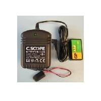 c scope accessoires charger 9v battery