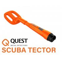 quest scuba tector orange